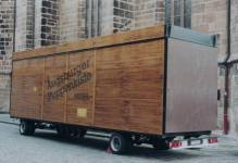 The Augsburger PuppenkistenMobil, the mobile tour-stage of the most famous German marionette-theater Augsburger Puppenkiste